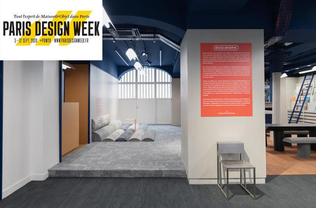 L'Atelier Tarkett à la Paris design week du 3 au 11 septembre : découvrez l'exposition ECO.WORK