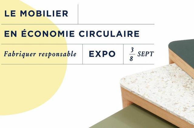 """Tarkett partenaire de l'exposition """"Le Mobilier en économie circulaire : Fabriquer responsable"""" par le studio 5.5"""