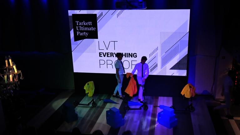 Nova LVT kolekcija je lansirana na Tarkett Ultimate Party!