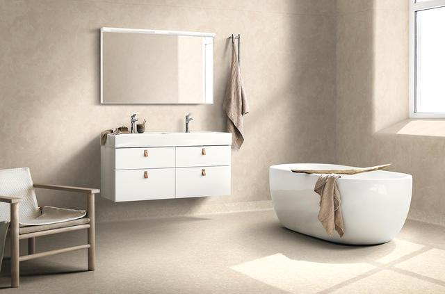 Gulv til bad og vaskerom