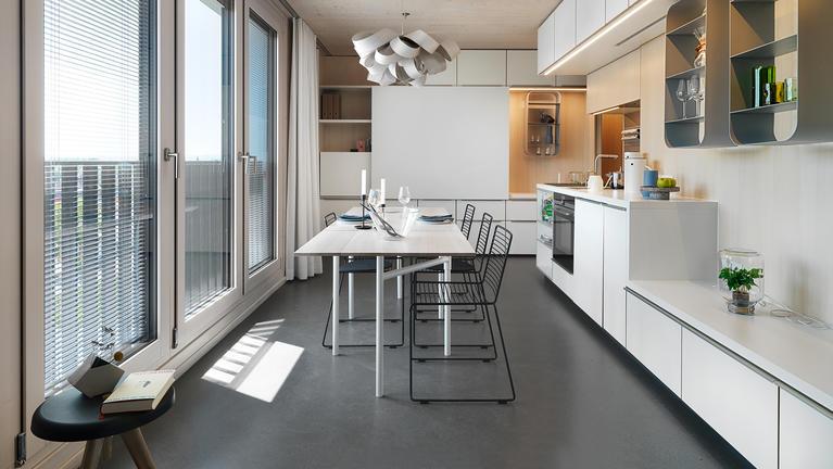 Holz Hybrid Hochhaus Skaio