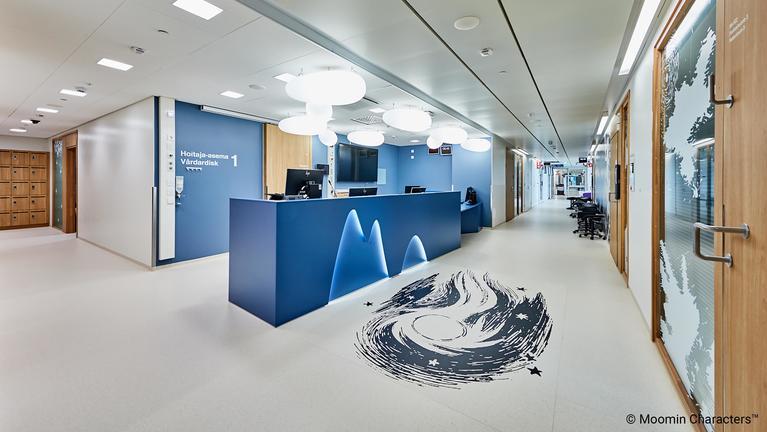Floorcraft - kuviopalvelun avulla räätälöityjä kuvia lattiaan