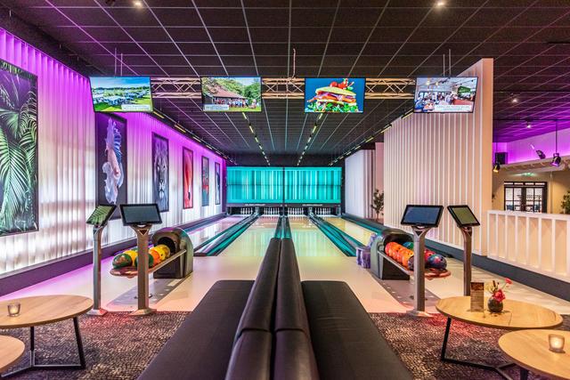 Bowlingbaan, Recreatie Park Het winkel
