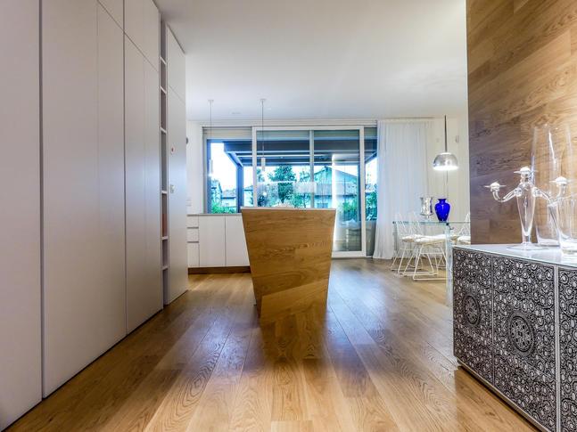 Il parquet Tarkett scelto per una casa privata di Mirano
