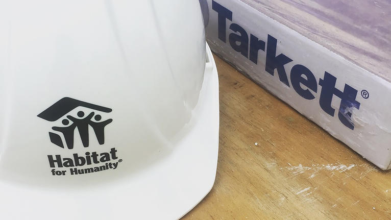 Tarkett North America Continues Partnership with Habitat for Humanity