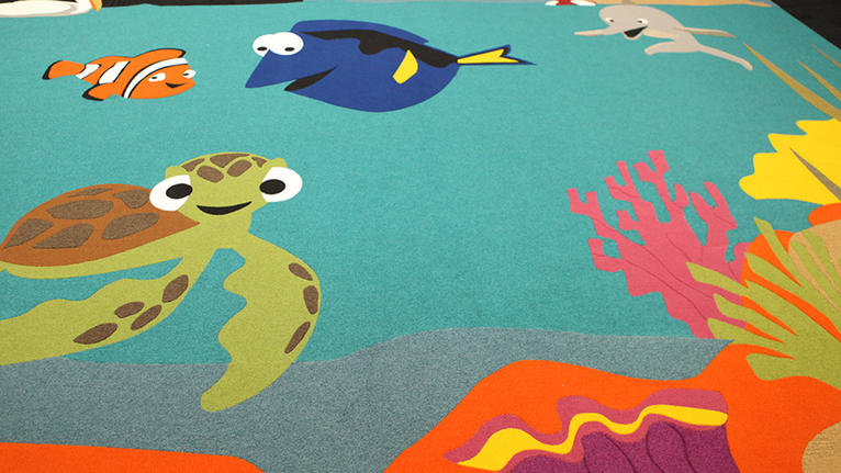 IMAGINATIONS™ Custom Floor Design