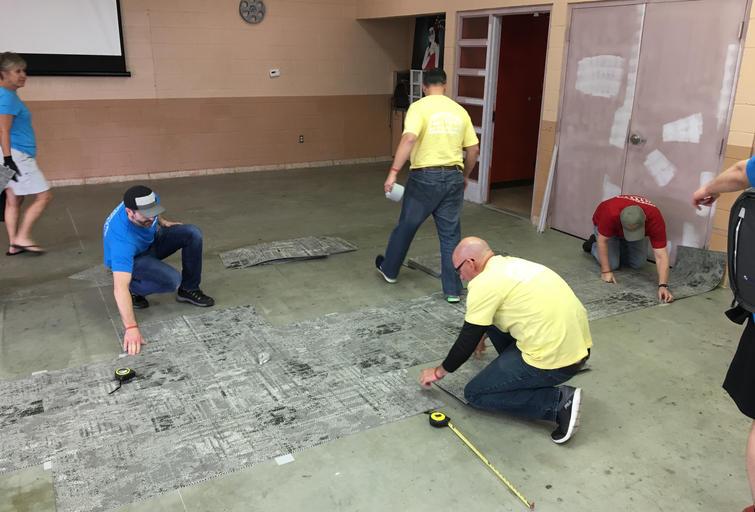 Nearly 350 Tarkett Employees Volunteering at 5 New Orleans Nonprofits