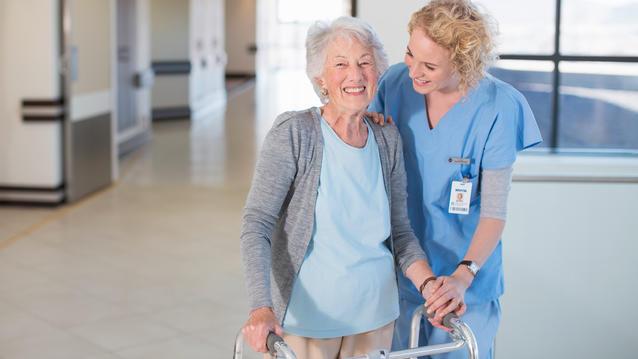 Vanhusten hoitokotien lattiat