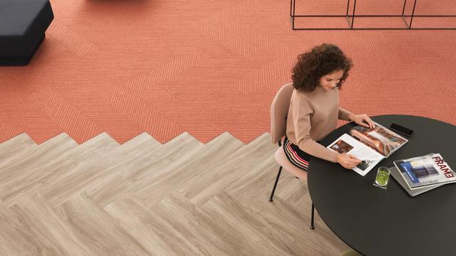 Tarkett Fusion tapijttegels designvloeren