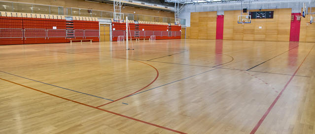 Sports halls