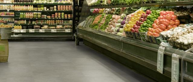 Yemek alanları ve süpermarketler