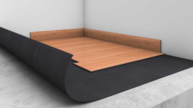 Acoustic comfort underlayer