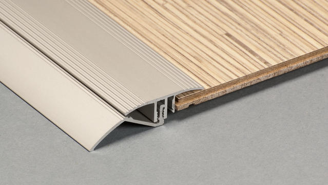 Aluminium Laminate flooring 3in1 strips