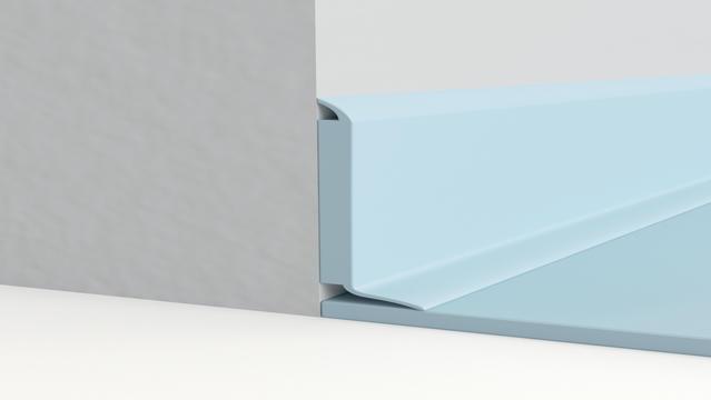 Semi-flexible decorative skirting