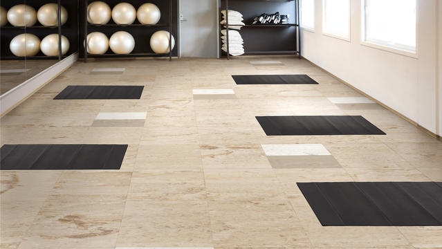Inertia® Multi-Functional and Sports Rubber Tile