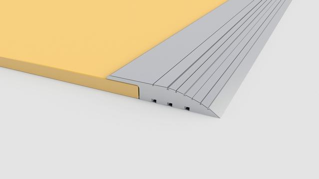Metallic ramp profiles