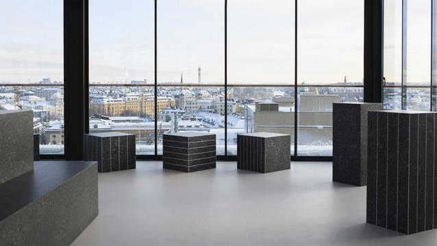 Vår utställning Snowtopped under Stockholm Design week 2019