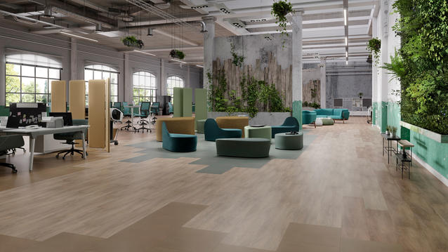 iD Square, the ideal flooring for great work spaces