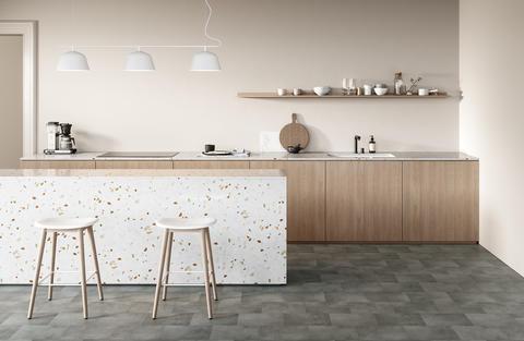 Vinylboden Designboden Küche