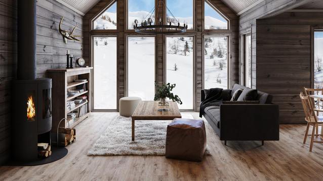 Det optimale gulvet til hytta