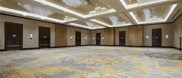 Convention area/ballroom