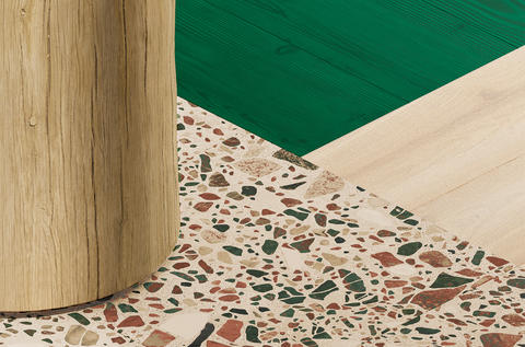 Customised iD Inspiration modular vinyl flooring