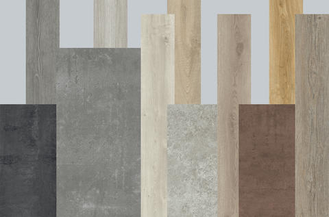 COLOUR CHART for our id inspiration Classics MODULAR VINYL flooring