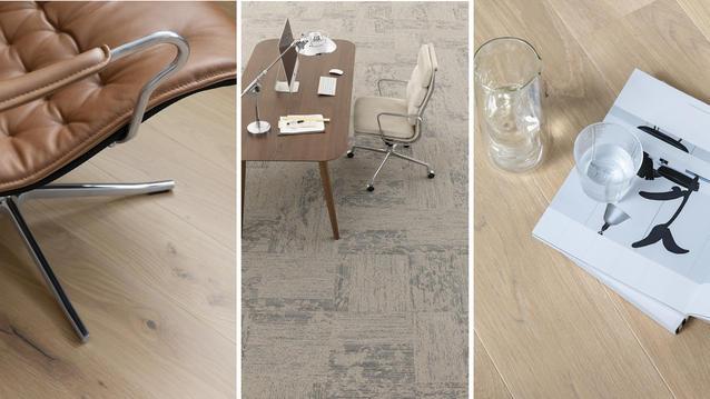 Bærekraftige gulv for fleksible kontorer – Om mennesker, møter og materialer