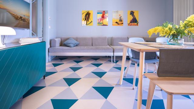L'appartamento di Fano realizzato con la collezione iD Mixonomi